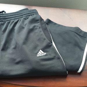 Adidas Black Pants Size Medium